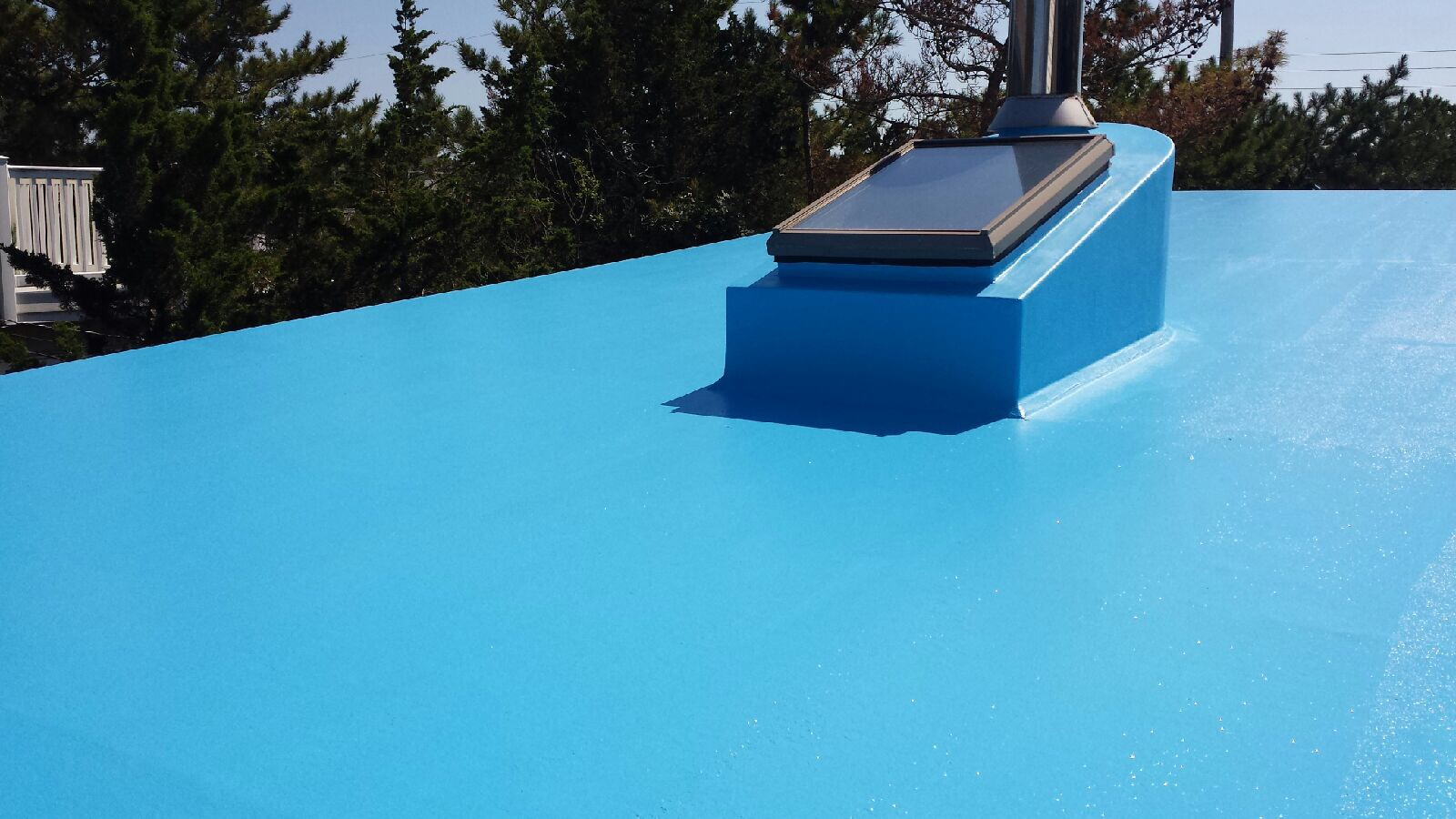 Give Us A Call For All Of Your Fiberglass Deck And Roof Recoating And  Custom Gelcoat Coloring.